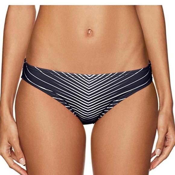83945c4a32 Vince Camuto Black White Bikini Bottom Medium